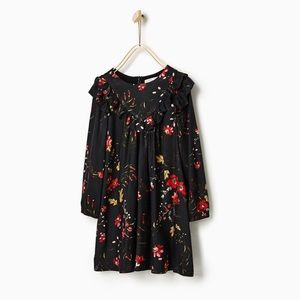 Zara Girls Flower Dress